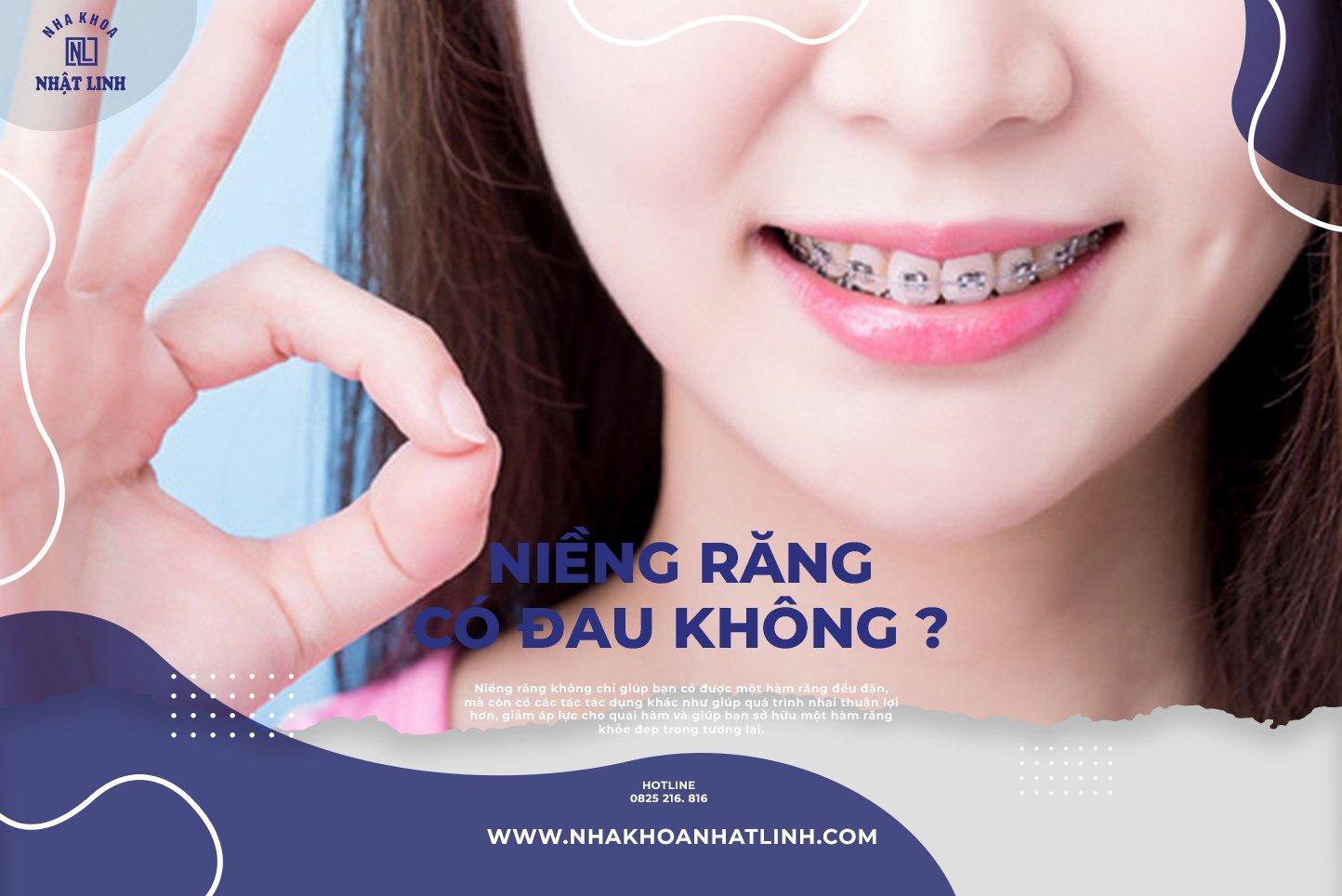 Với các kỹ thuật và máy móc hiện đại. Việc niềng răng ngày nay không còn đau như bạn nghe kể